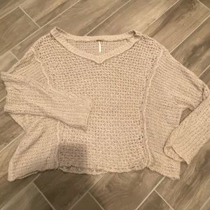 Free people knit sweater S
